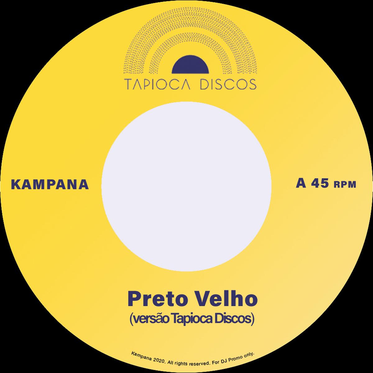 """Tapioca Discos/PRETO VELHO 7"""""""