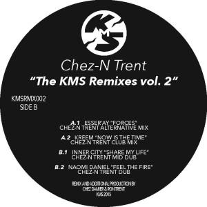 """Chez N' Trent/THE KMS REMIXES VOL. 2 12"""""""