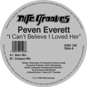 "Peven Everett/I CAN'T BELIEVE... 12"""