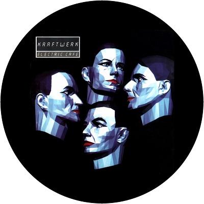 Kraftwerk/ELECTRIC CAFE ALBUM SLIPMAT