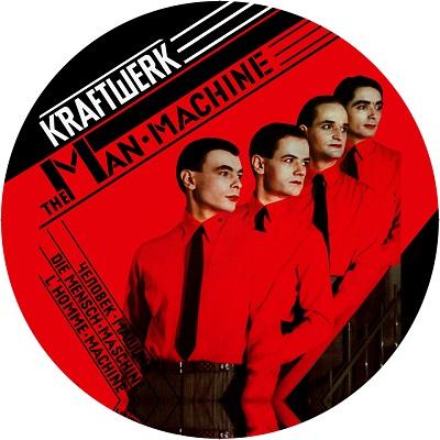 Kraftwerk/MAN MACHINE ALBUM SLIPMAT