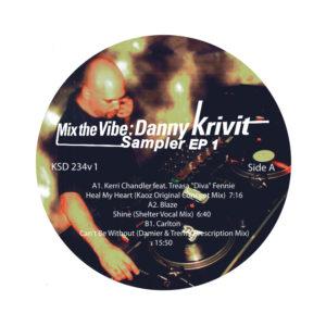 """Danny Krivit/MIX THE VIBE SAMPLER #1 12"""""""