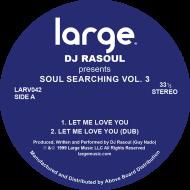 """DJ Rasoul/SOUL SEARCHING VOL. 3 12"""""""