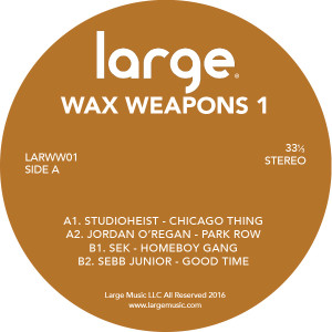 Various/WAX WEAPONS VOL. 1 12""