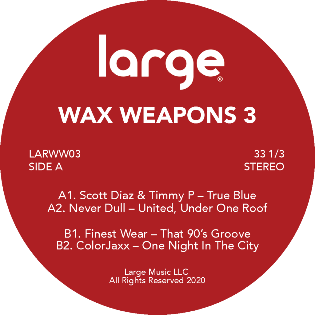 Various/LARGE MUSIC: WAX WEAPONS 3 12""