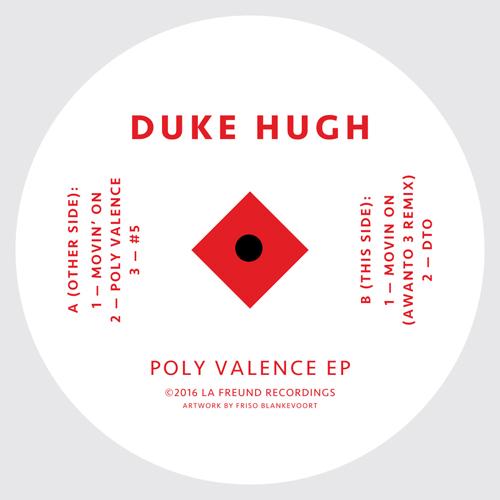 "Duke Hugh/POLY VALENCE EP 12"""