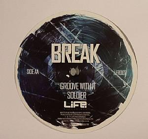 "Break/GROOVE WITH IT 12"""