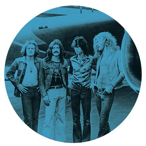 Led Zeppelin/PLANE (BLUE) SLIPMAT