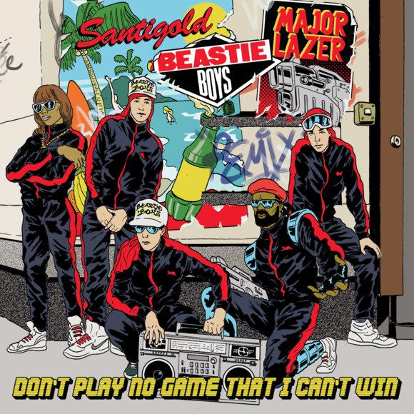 "Beastie Boys/DON'T PLAY(MAJOR LAZER) 7"""