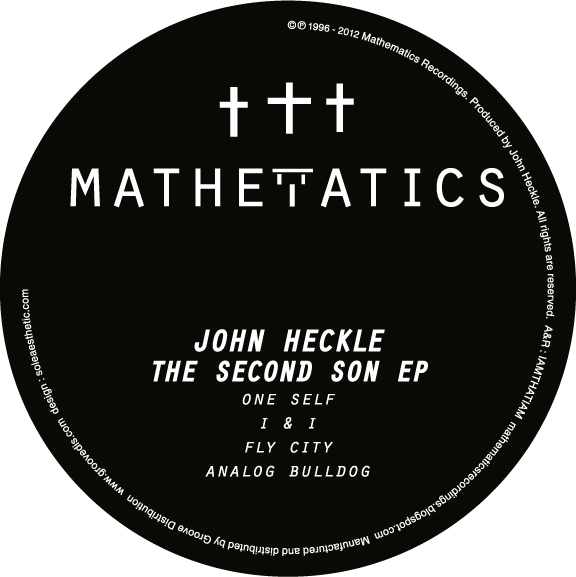 """John Heckle/THE SECOND SON EP 12"""""""
