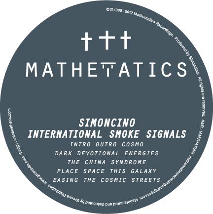 """Simoncino/INT'L SMOKE SIGNALS EP 12"""""""