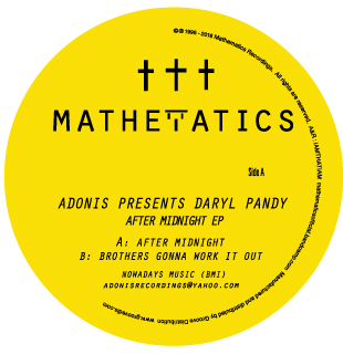 """Adonis & Daryl Pandy/AFTER MIDNIGHT 12"""""""