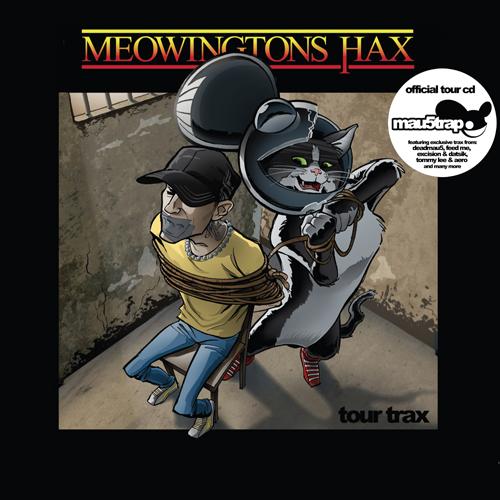 Various/MEOWINGTONS HAX TOUR TRAX CD