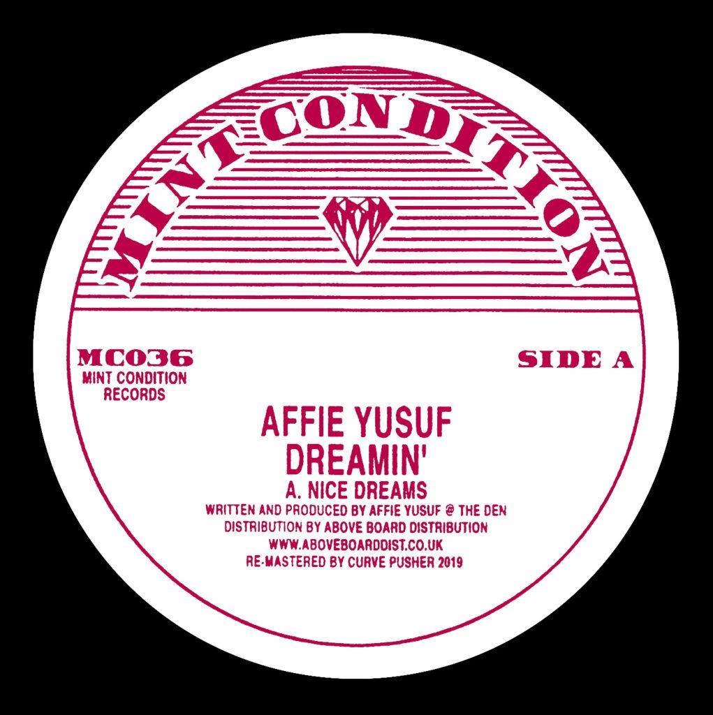 """Affie Yusuf/DREAMIN' 12"""""""