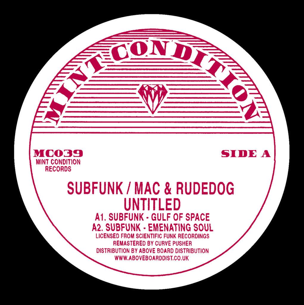"Subfunk vs Mac & Rudedog/UNTITLED 12"""