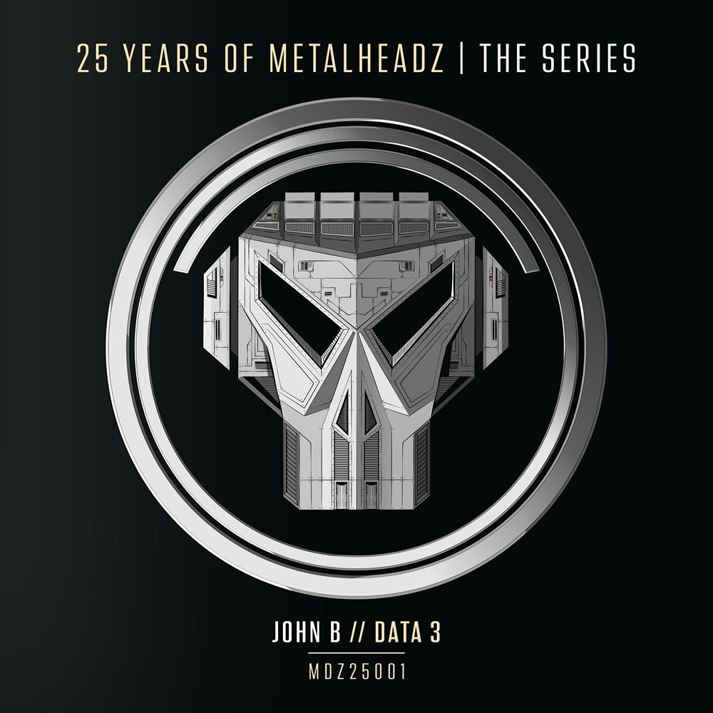 """John B/25 YEARS OF METALHEADZ 12"""""""