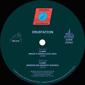 "Crustation/FLAME (MOOD II SWING RMX) 12"""