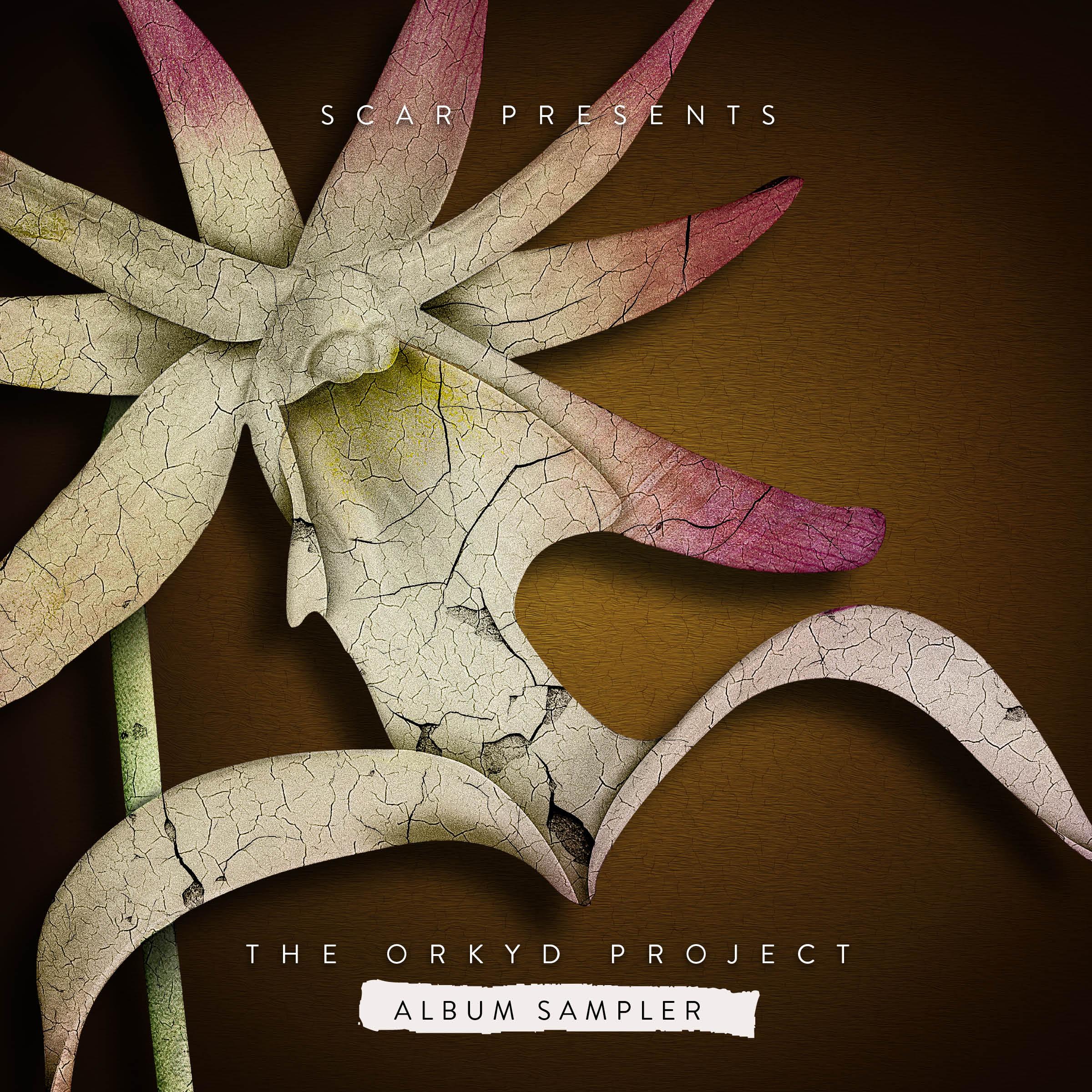 "Scar/THE ORKYD PROJECT ALBUM SAMPLER 12"""