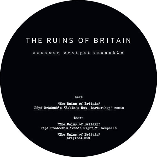 """W.W.E./RUINS OF BRITAIN-PEPE BRADOCK 12"""""""
