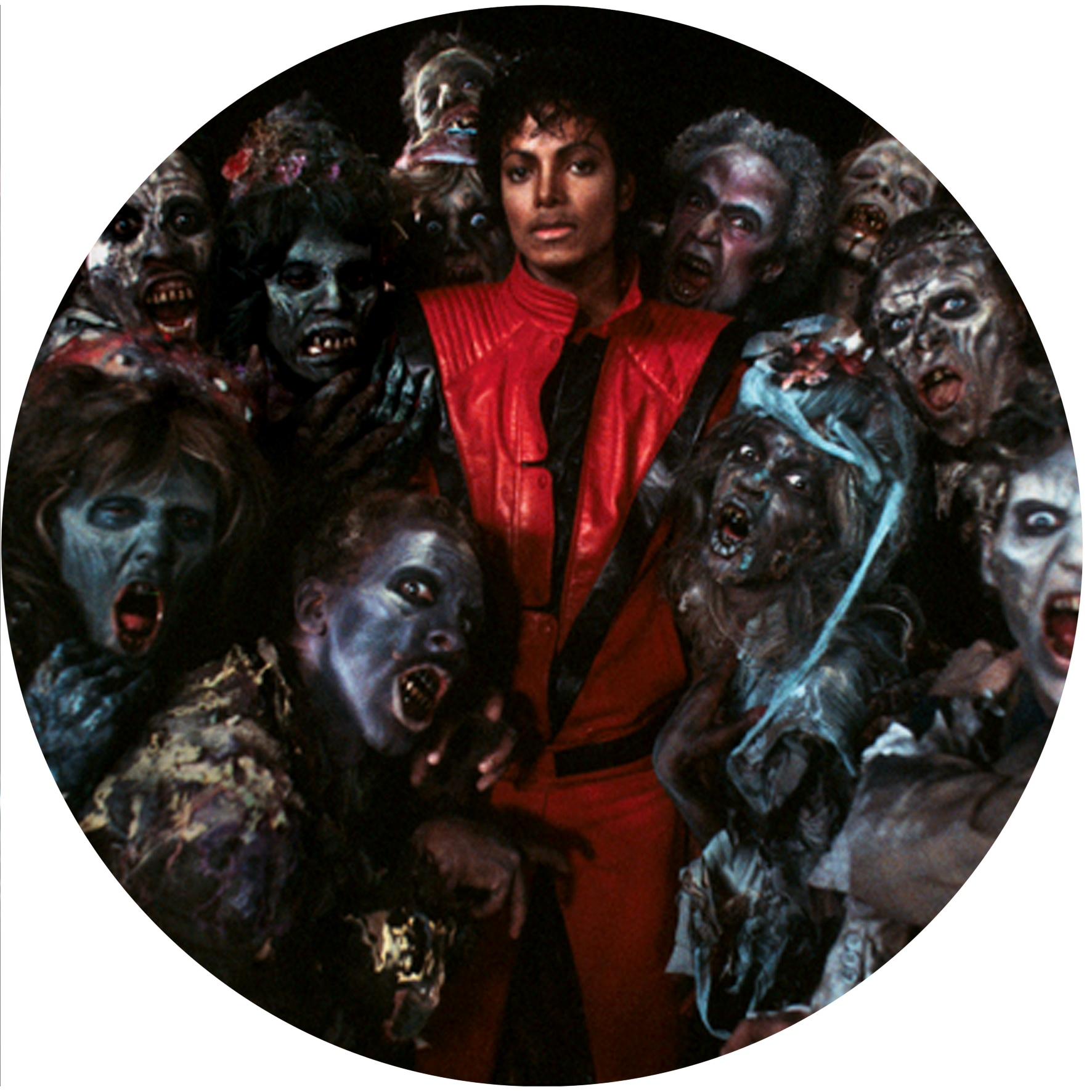 Michael Jackson/ZOMBIE THRILLER SLIPMAT