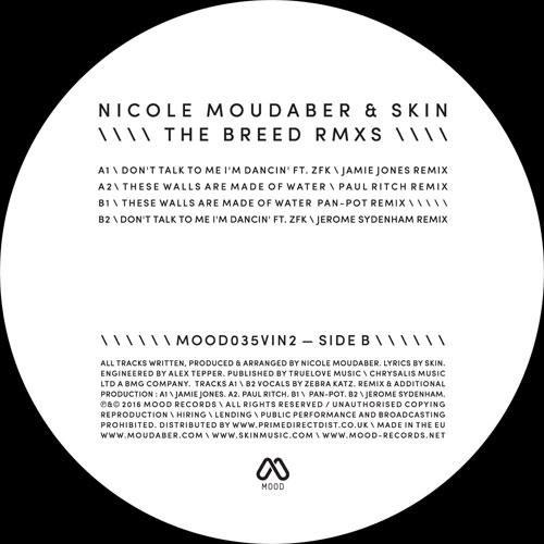 """N. Moudaber & Skin/THE BREED RMX #2 12"""""""
