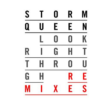 """Storm Queen/LOOK RIGHT-LIL SILVA RMX 12"""""""