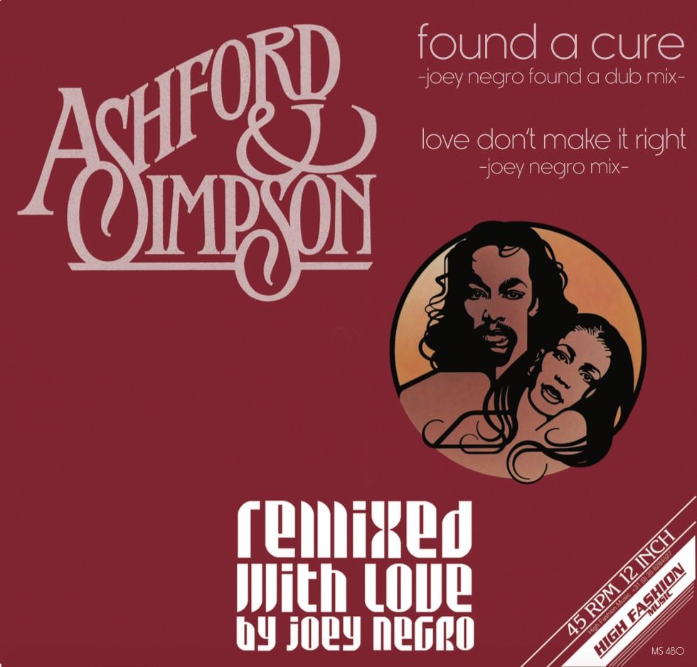 """Ashford & Simpson/FOUND A.. (JN RMX) 12"""""""