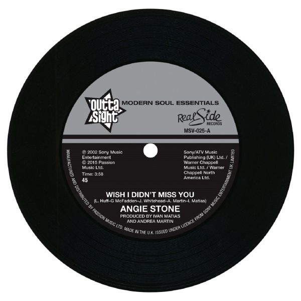 """Angie Stone/WISH I DIDN'T MISS YOU 7"""""""