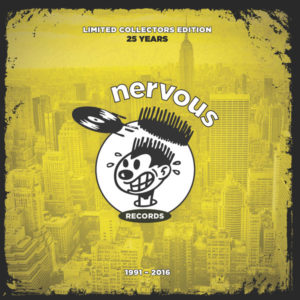 """Various/NERVOUS RECORDS 25 YEARS D12"""""""