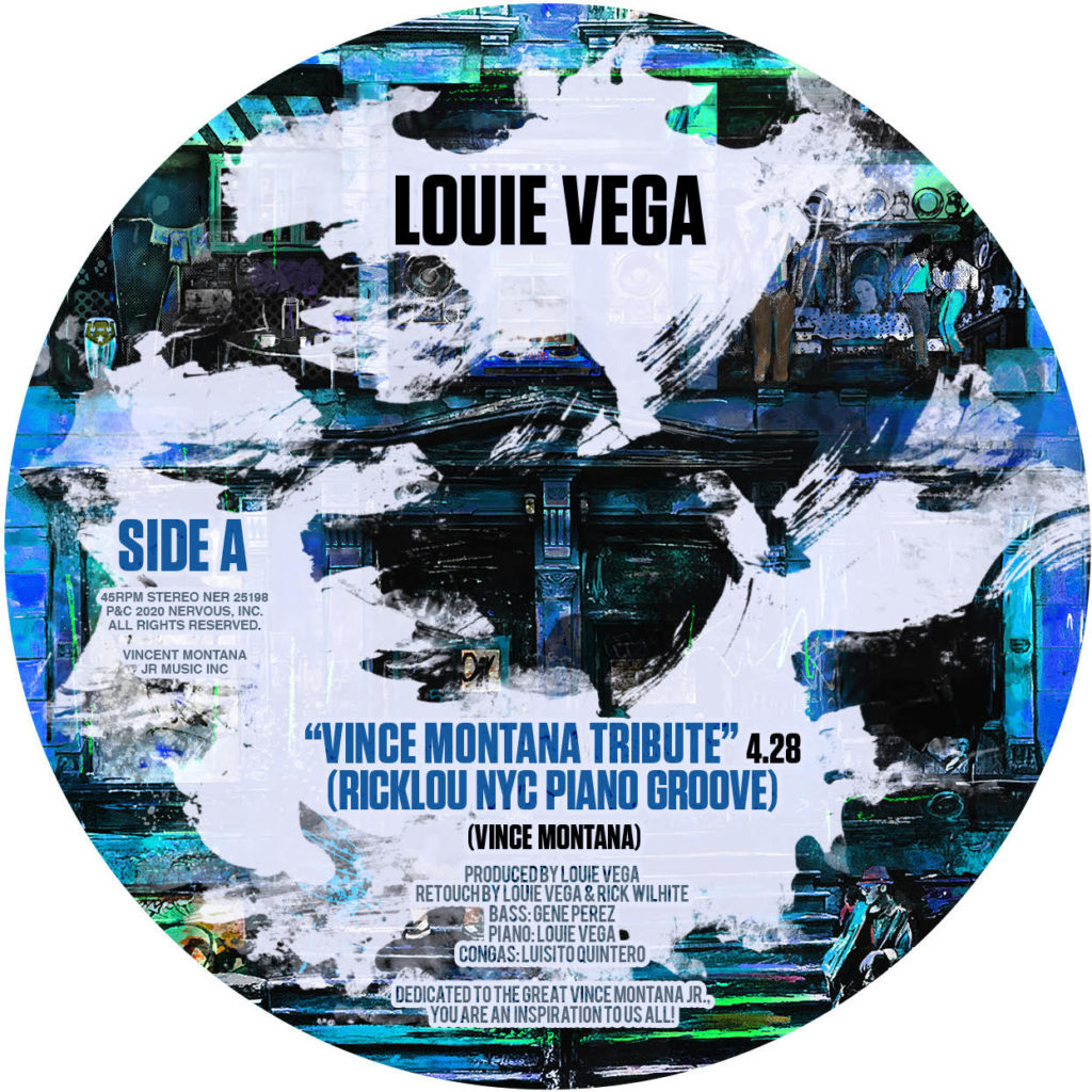 "Louie Vega/VINCE MONTANA TRIBUTE 7"""