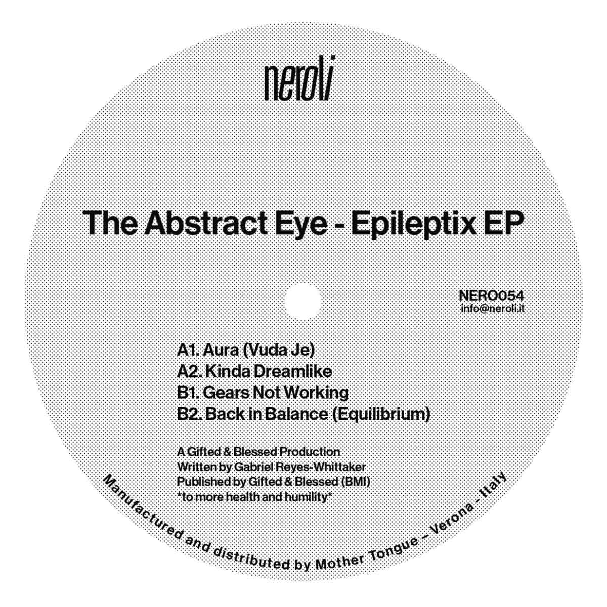 Abstract Eye/EPILEPTIX EP 12""