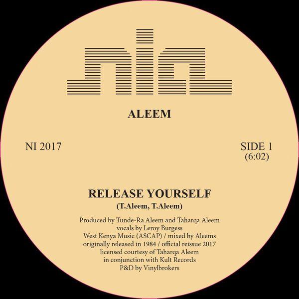 "Aleem/RELEASE YOURSELF REPRESS 12"""