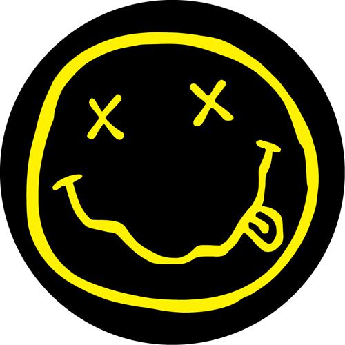 Nirvana/SMILEY FACE SLIPMAT