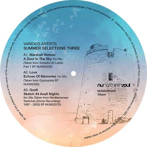 "Various/SUMMER SELECTIONS THREE 12"""