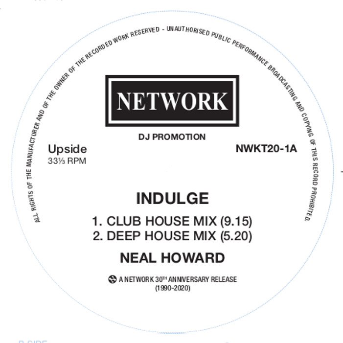Neal Howard/INDULGE 12""