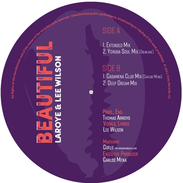"Laroye & Lee Wilson/BEAUTIFUL 12"""