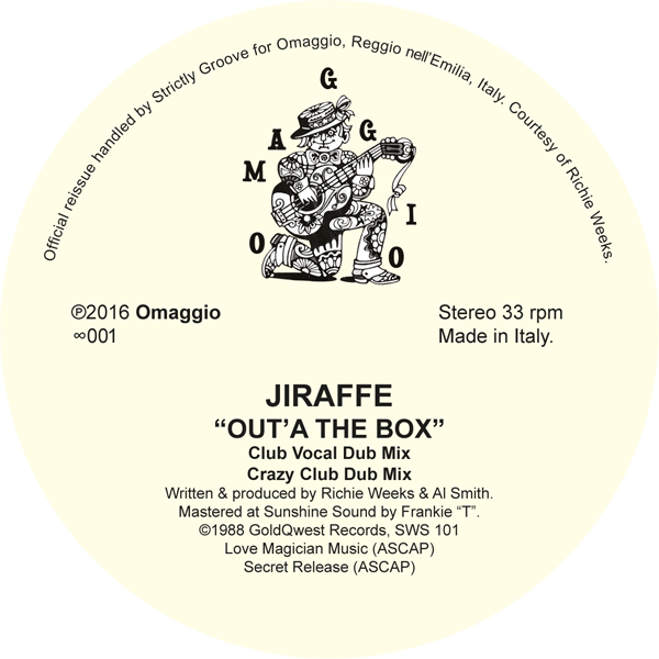 "Jiraffe/OUTTA THE BOX 12"""