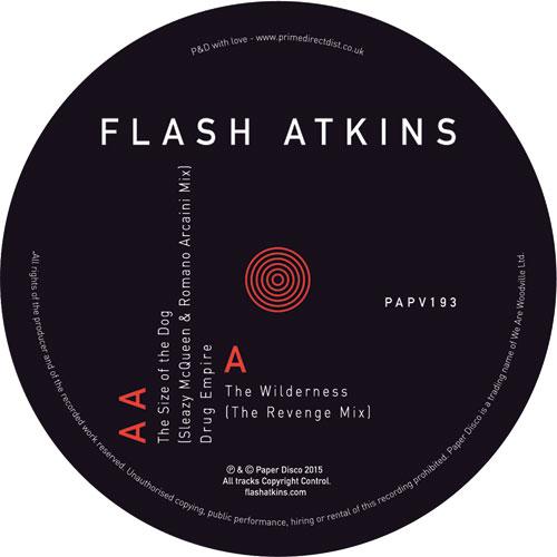 "Flash Atkins/WILDERNESS (REVENGE RX) 12"""