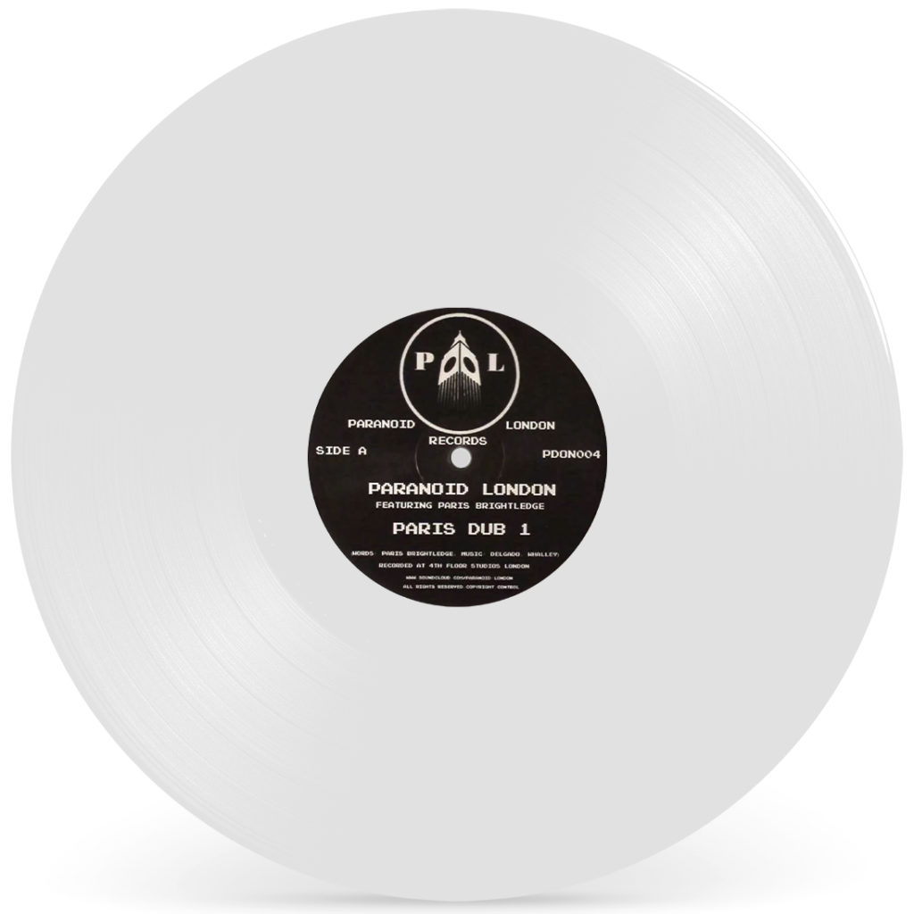 "Paranoid London/PARIS DUB 1 12"""