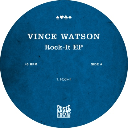 "Vince Watson/ROCK-IT EP 12"""
