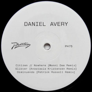Daniel Avery/SONG FOR ALPHA RMXS PT1 12""