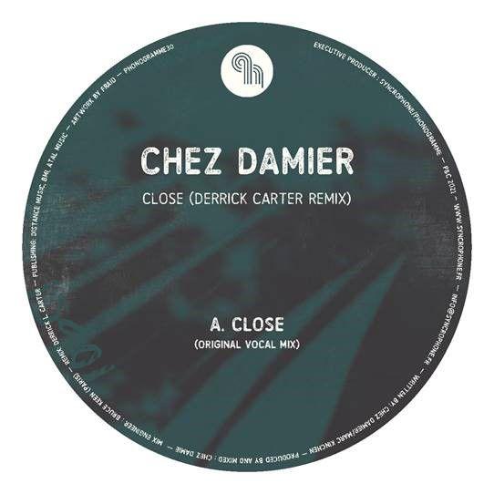 "Chez Damier/CLOSE-DERRICK CARTER RMX 12"""
