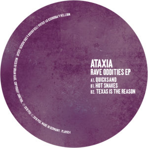 Ataxia/RAVE ODDITIES EP 12""
