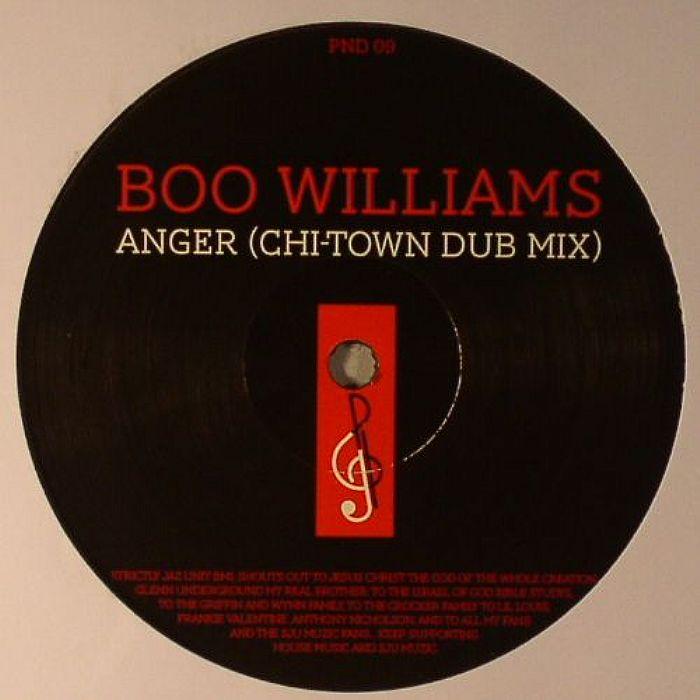"Boo Williams/ANGER & FLASHBACK 12"""