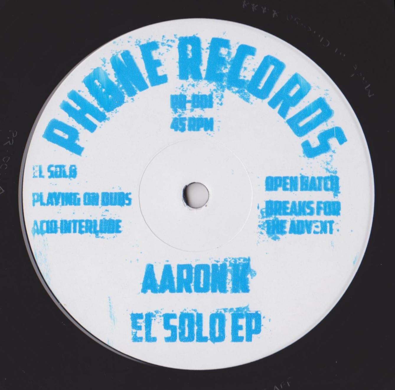 """Aaron K/EL SOLO EP 12"""""""