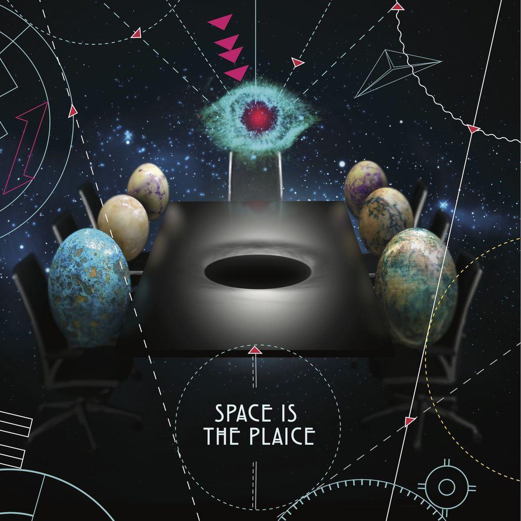 Various/SPACE IS THE PLAICE (COLOR) 3LP
