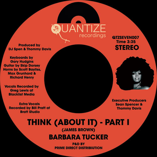 Barbara Tucker/THINK (ABOUT IT) 7""