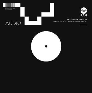 "Audio/BEASTMODE LP SAMPLER 12"""