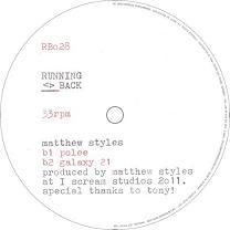 "Matthew Styles/SAMPLE & HOLD EP 12"""
