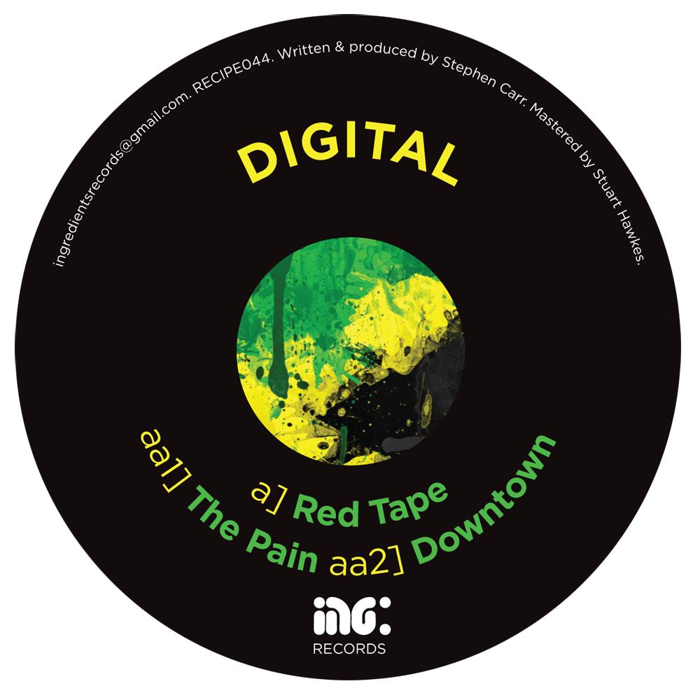 "Digital/RED TAPE 12"""